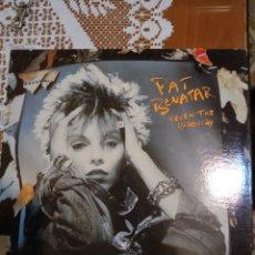 Discos de vinilo: PAT BENATAR. SEVEN THE HARD WAY. EDITADO EN CANADÁ .. Lote 205872650