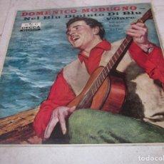 Discos de vinilo: DOMENICO MODUGNO - NEL BLU DIPINTO DI BLU (VOLARE) LP - DECCA USA 1958. Lote 205876848