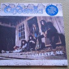 Discos de vinilo: CINDERELLA -SHELTER ME- (1990) PICTURE DISC. Lote 205877280