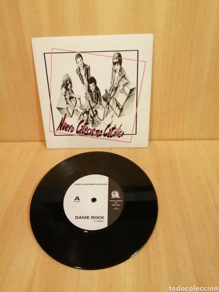 NUEVO CATECISMO CATÓLICO, DAME ROCK, NO ES PARA MI. (Música - Discos - Singles Vinilo - Punk - Hard Core)