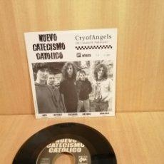 Discos de vinilo: NUEVO CATECISMO CATÓLICO. SHOCK TREATMENT.. Lote 205880831