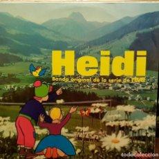 Discos de vinilo: HEIDI BANDA ORIGINAL DE LAS SERIES DE TVE. Lote 205895077