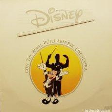 Discos de vinilo: MAGIC DISNEY CON THE ROYAL PHILHARMONIC ORCHESTRA. Lote 205899300