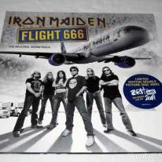 Discos de vinilo: LP IRON MAIDEN - FLIGHT 666. Lote 205900903