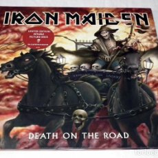 Discos de vinilo: LP IRON MAIDEN - DEATH ON THE ROAD. Lote 205901707
