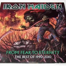 Discos de vinilo: LP IRON MAIDEN - FROM FEAR TO ETERNITY - THE BEST OF 1990-2010. Lote 205940775