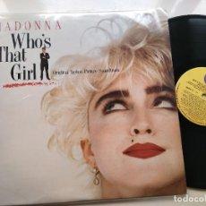 Discos de vinilo: MADONNA - WHO'S THAT GIRL . LP.. Lote 206118710