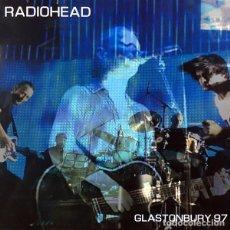 Discos de vinilo: RADIOHEAD LP GLASTONBURY 97 VINILO LIVE MUY RARO COLECCIONISTA. Lote 206122357