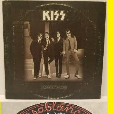 Discos de vinilo: KISS / DRESSED TO KILL 1975, RARO 1º PRENSAJE CASABLANCA LABEL BOGARD, EDIT. ORIG. USA !! VINILO EXC. Lote 206118208