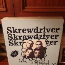 Discos de vinilo: SKREWDRIVER / ALL SKREWED UP / NOT ON LABEL. Lote 206132391