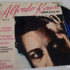 Discos de vinilo: EP ( VINILO) DE ALFREDO KRAUS AÑOS 50. Lote 206132422
