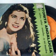 Discos de vinilo: E P ( VINILO) DE ANTOÑITA ANDALUCIA AÑOS 60. Lote 206132591