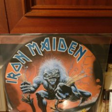 Discos de vinilo: IRON MAIDEN / A REAL LIVE ONE / NOT ON LABEL. Lote 206133821
