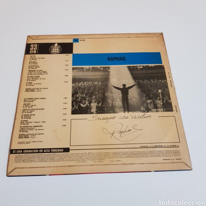 Discos de vinilo: RAPHAEL 1965 HISPAVOX - Foto 2 - 206134597