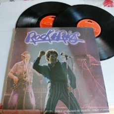 Discos de vinilo: MIGUEL RIOS-LP DOBLE ROCK & RIOS-ENCARTE LETRAS. Lote 206134782