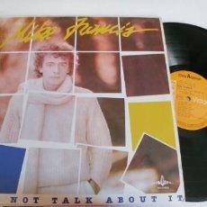 Discos de vinilo: MIKE FRANCIS-LP LET'S NOT TALK ABOUT IT-ESPAÑOL 1984. Lote 206136886