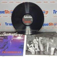 Discos de vinilo: LP DE VINILO EXTREMODURO CANCIONES PROHIBIDAS. Lote 206138878
