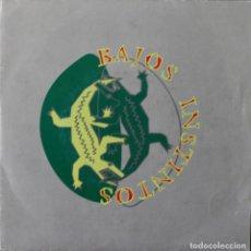 Discos de vinilo: BAJOS INSTINTOS// NOCHES ETERNAS// SINGLE// 1992// JAMMIN´ INDIE. Lote 206138907
