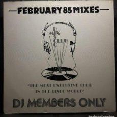 Discos de vinilo: MADONNA - FEBRUARY 85 MIXES - MAXISINGLE - REINO UNIDO - 1985 - VERSIONES LARGAS PARA DISCOTECAS. Lote 206145491