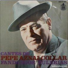 Discos de vinilo: PEPE AZNALCOLLAR// LOS PAJARILLOS+3// EP// 1968// HISPAVOX. Lote 206145581