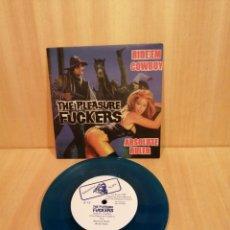 Discos de vinilo: THE PLEASURE FUCKERS, RIDE'EM COWBOY, ABSOLUTE RULER.. Lote 206149593