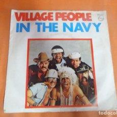 Discos de vinilo: SINGLE , VILLAGE PEOPLE - IN THE NAVY - , VER FOTOS. Lote 206155641