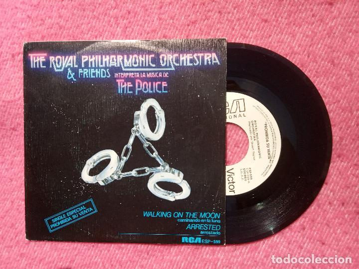 SINGLE THE ROYAL PHILHARMONIC ORCHESTRA INTERPRETA A THE POLICE SPAIN PRESS PROMO (NM/EX) (Música - Discos - Singles Vinilo - Orquestas)