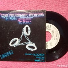 Discos de vinilo: SINGLE THE ROYAL PHILHARMONIC ORCHESTRA INTERPRETA A THE POLICE SPAIN PRESS PROMO (NM/EX). Lote 206155685