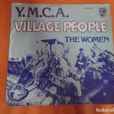 Discos de vinilo: SINGLE , VILLAGE PEOPLE - Y.M.C.A. , VER FOTOS. Lote 206155841