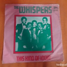 Discos de vinilo: SINGLE , THE WHISPERS – THIS KIND OF LOVIN' , VER FOTOS. Lote 206156713