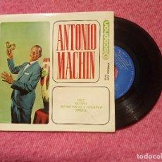 Discos de vinilo: EP ANTONIO MACHIN - DILE / GLORIA / NO ME VAYAS A ENGAÑAR /DEUDA +1 - 27.261 - SPAIN PRESS (EX-/NM). Lote 206157513
