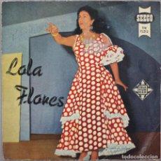 Discos de vinilo: LOLA FLORES// UN MUNDO RARO+3// EP// 1958// SEECO TELEFUNKEN. Lote 206158661