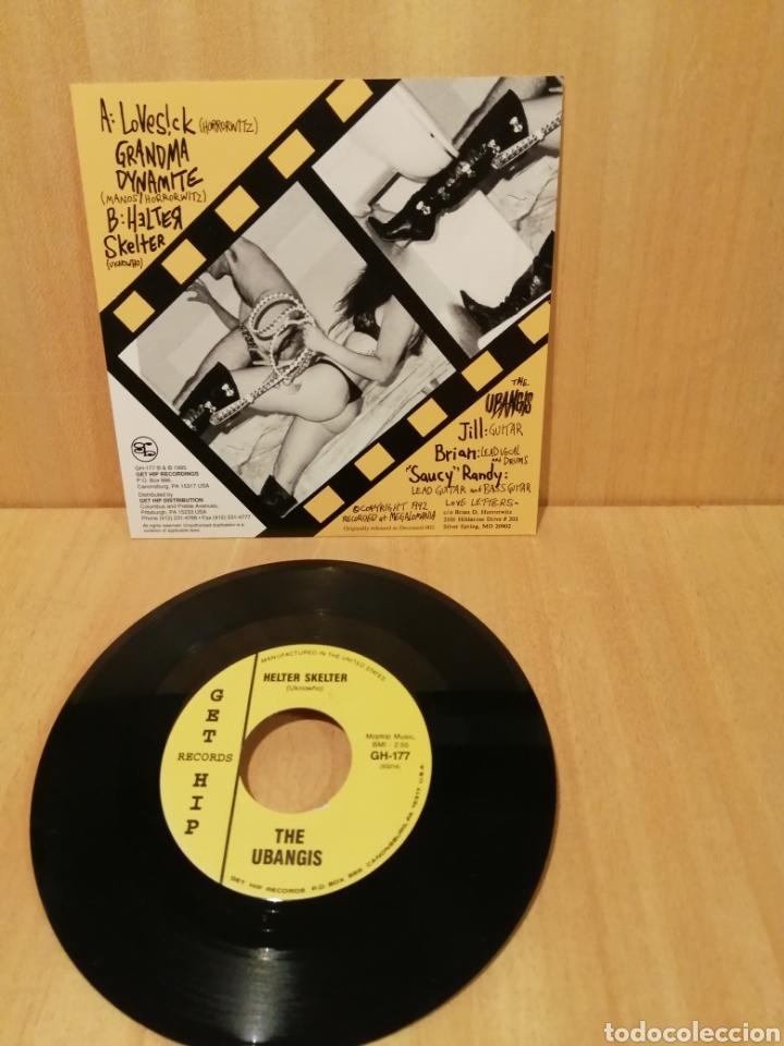 Discos de vinilo: The Ubangis. Lovesick, Grandma Dynamite, Helter skelter. - Foto 2 - 206159277