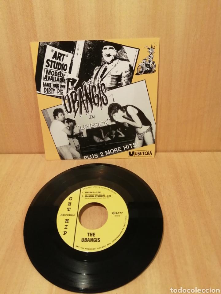 THE UBANGIS. LOVESICK, GRANDMA DYNAMITE, HELTER SKELTER. (Música - Discos - Singles Vinilo - Punk - Hard Core)