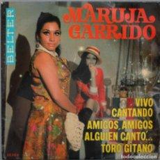 Discos de vinilo: MARUJA GARRIDO// VIVO CANTANDO+3// EP// 1969// BELTER. Lote 206161135