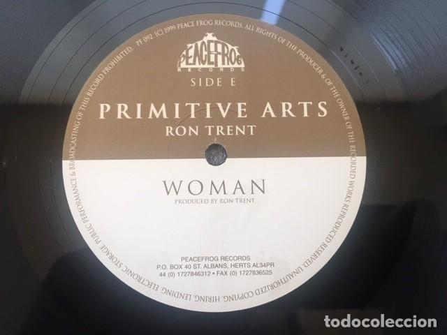 Discos de vinilo: PRIMITIVE ARTS . RON TRENT. 3 LP . EDICIÓN LIMITADA - Foto 6 - 206161755