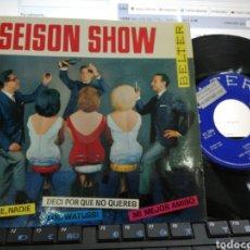 Discos de vinilo: SEISON SHOW EP NADIE, NADIE + 3 1964. Lote 206162750