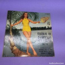 Discos de vinilo: SINGLE FESTIVAL DE SANREMO Nº1 ROMANTICA QUANDO VIEN LA SERA AMORE ABISSO DOLCE SPLENDE IL SOLE VG++. Lote 206164526