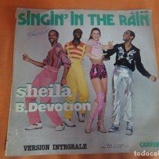 Discos de vinilo: SINGLE , SHEILA B. DEVOTION – SINGIN' IN THE RAIN , VER FOTOS. Lote 206165671