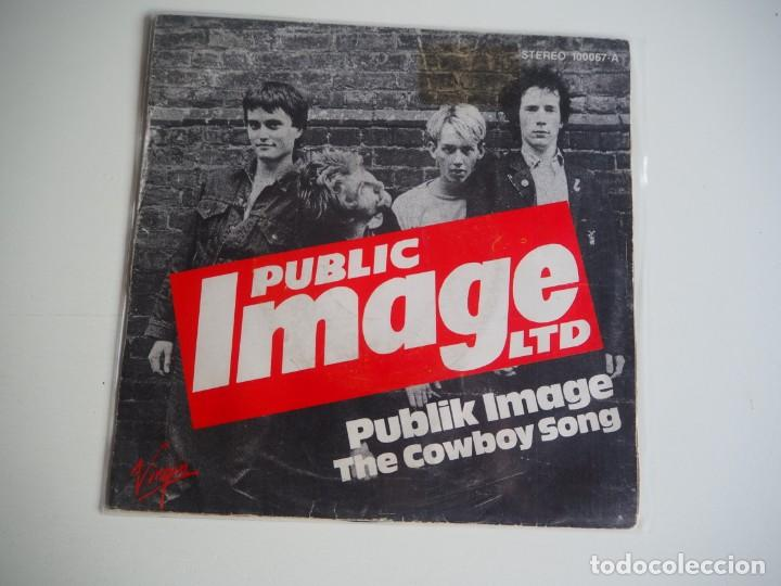 SINGLE P.I.L. (PUBLIC IMAGE LIMITED) PUBLIK IMAGE / THE COWBOY SONG MADE IN SPAIN PUNK SEX PISTOLS (Música - Discos - Singles Vinilo - Punk - Hard Core)