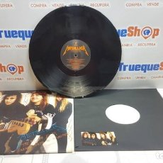 "Discos de vinilo: LP DE VINILO METALLICA ""THE 5.98 E.P.-GARAGE DAYS. Lote 206169286"