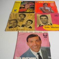 Discos de vinilo: LUIS MARIANO LOTE DE 5 EPS EDICIÓN ESPAÑOLA. Lote 206169530