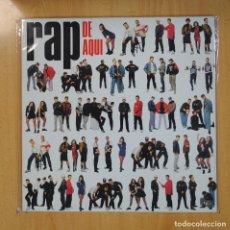 Discos de vinilo: VARIOS - RAP DE AQUI - LP. Lote 206174318