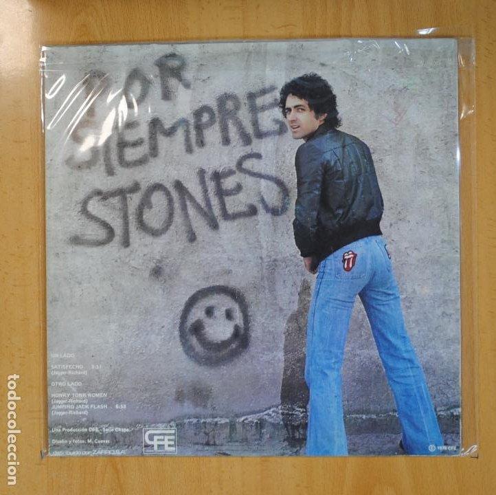 Discos de vinilo: MARISCAL ROMERO - POR SIEMPRE STONES - MAXI - Foto 2 - 206174572