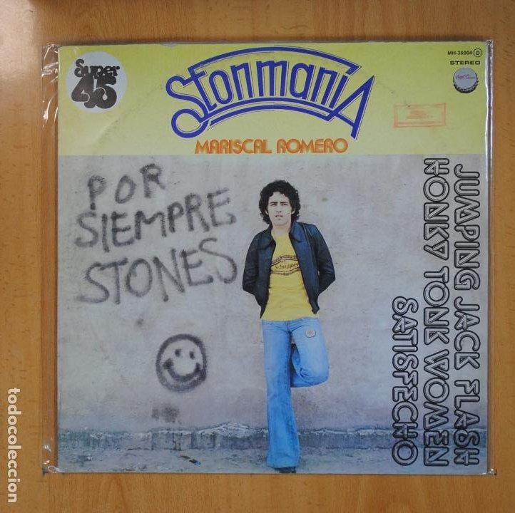 MARISCAL ROMERO - POR SIEMPRE STONES - MAXI (Música - Discos de Vinilo - Maxi Singles - Pop - Rock Extranjero de los 70)