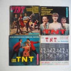 Discos de vinilo: LOS TNT LOTE DE 4 EPS EDITADOS POR RCA Y BELTER. Lote 206174813