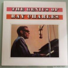 Discos de vinilo: THE GENIUS OF RAY CHARLES - VINILO. Lote 206176692