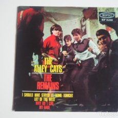Discos de vinilo: EP THE REMAINS / THE ALLEY CATS (EPIC, 1965) VG++ / VG++. Lote 206178353