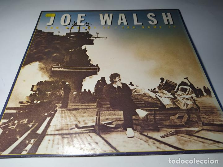 LP- JOE WALSH ‎– YOU BOUGHT IT - YOU NAME IT - 92-3884-1 ( VG+ / VG+ ) GER1983 (Música - Discos - LP Vinilo - Heavy - Metal)