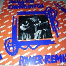 Discos de vinilo: BAILA CON LOS CHUNGUITOS-POWER REMIX-EXCELENTE ESTADO. Lote 206179606
